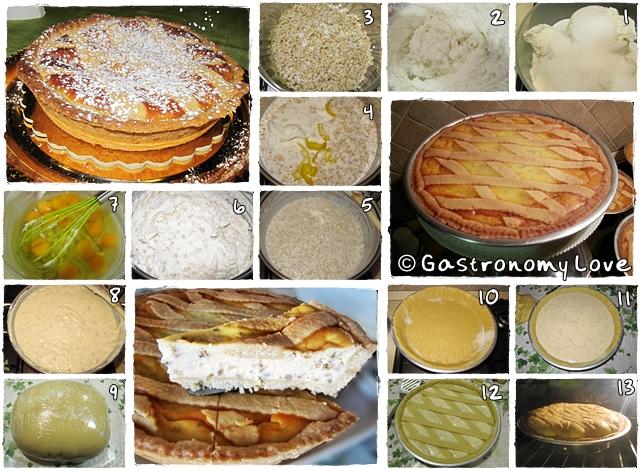 Pastiera napoletana ricetta originale_preparazione passo passo