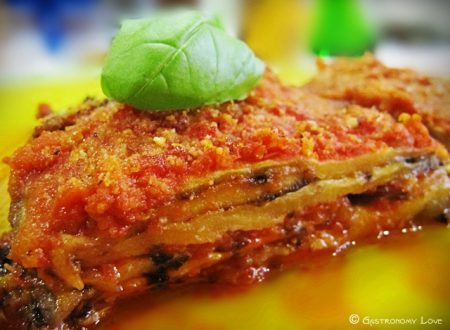 Parmigiana light di melanzane grigliate