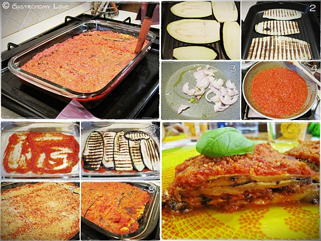 PARMIGIANA LIGHT_preparazione