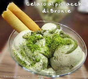gelato al pistacchio di bronte