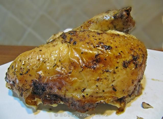 pollo arrosto_porzione