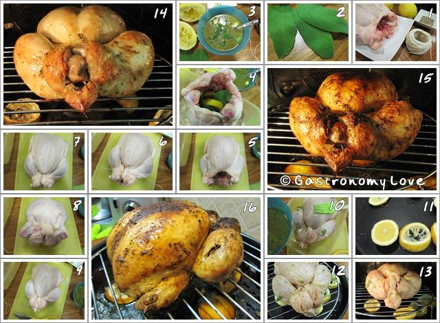 preparazione pollo arrosto