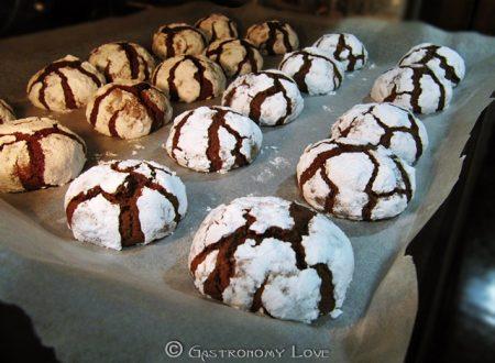 Chocolate crackle cookies: biscottini goduriosi!