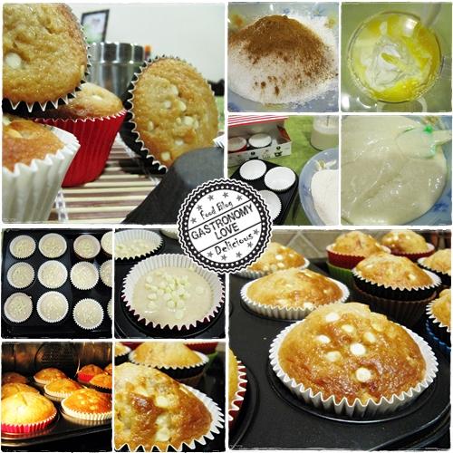 preparazione muffin