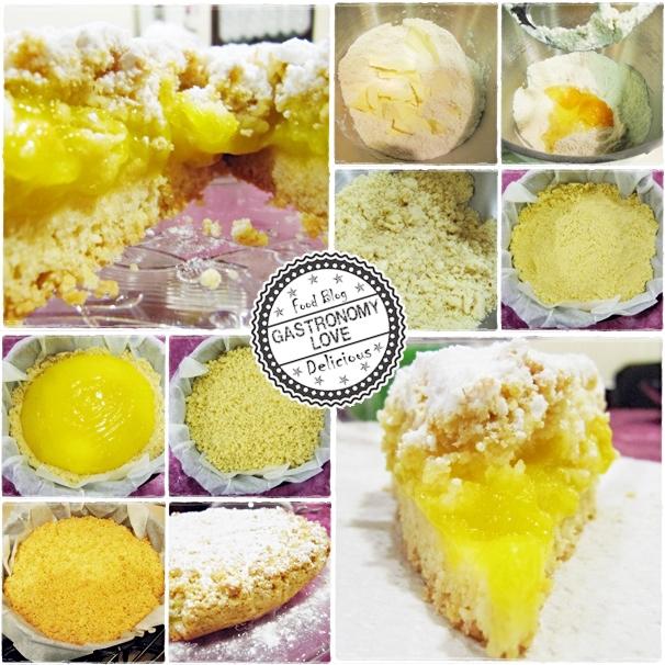 sbriciolata al lemon curd
