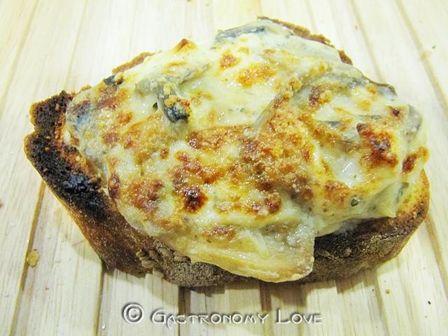 crostone fungh & pollo