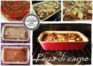 pizza di carne prep
