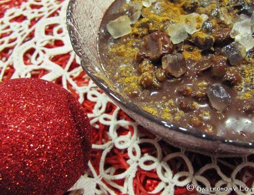 La cuccìa Palermitana: versione al cioccolato.