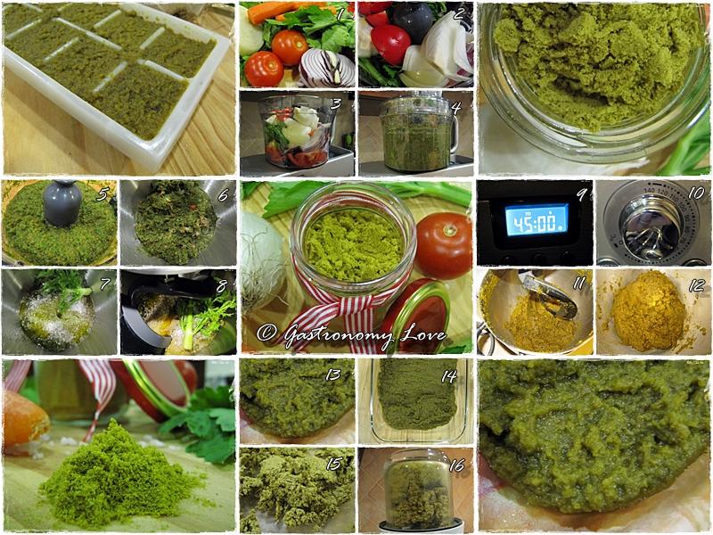 preparazione dado vegetale home made