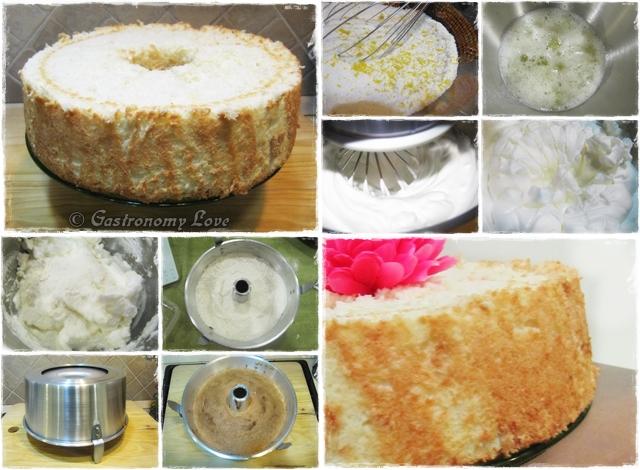 angel cake preparazione