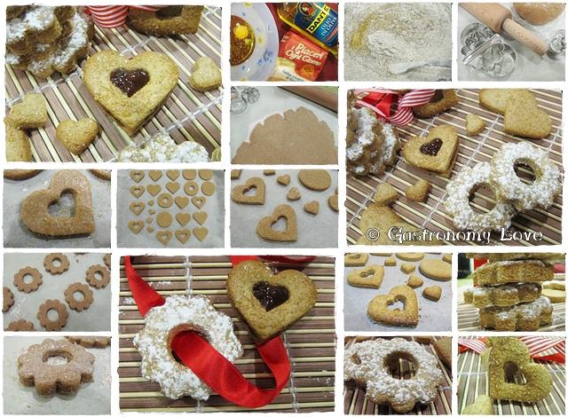 preparazione biscotti light