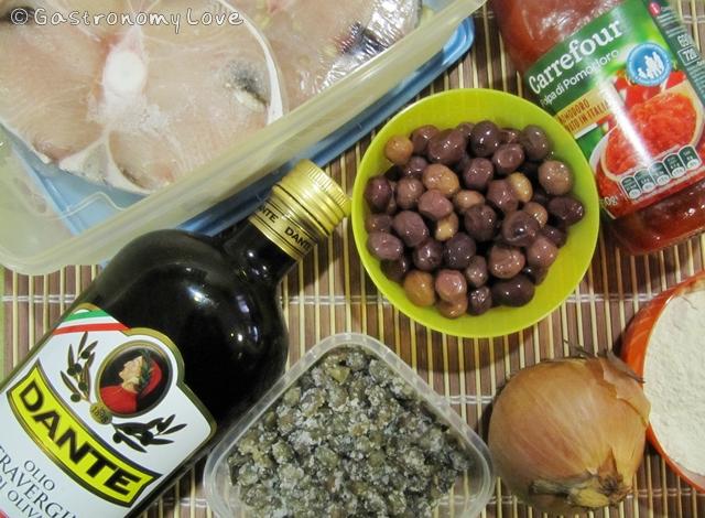 smeriglio alla messinese_ingredienti