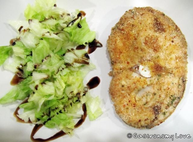 pesce panato al forno