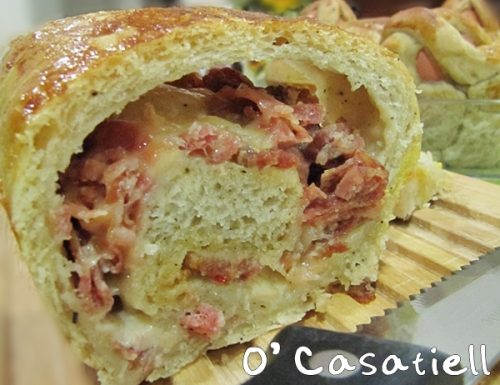 CASATIELLO NAPOLETANO: don't worry, eat casatiello!
