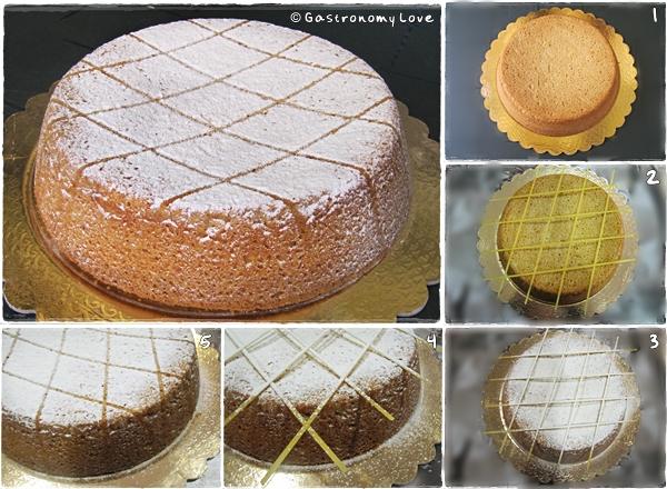 Cassata siciliana al forno_decorazione