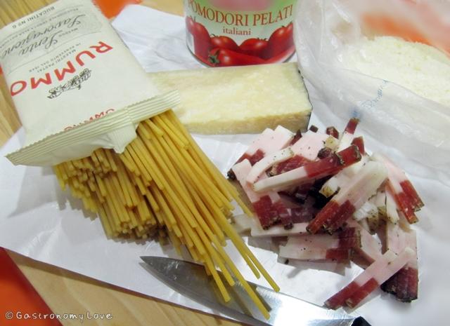 pasta all'amatriciana_ingredienti