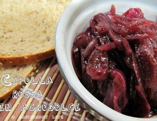 Cipolla Rossa in Agrodolce pronta in 15 minuti
