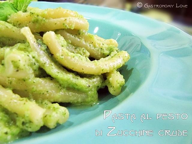 pesto di zucchine crude 2