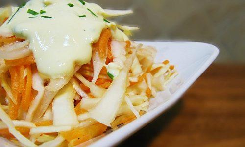 Coleslaw salad: insalata di cavolo & carote