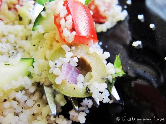 Insalata vegana di couscous