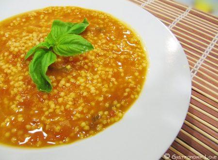 Zuppa di miglio e zucca