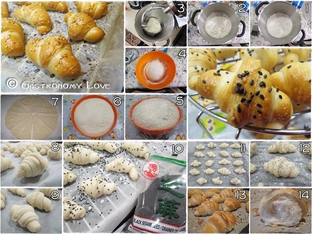 Cornettini salati da buffet_preparazione