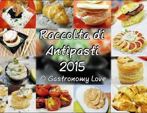 Raccolta Antipasti 2015