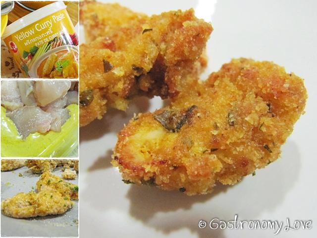 straccetti di pollo al forno_curry