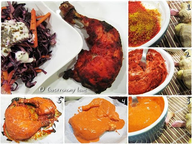 Pollo Tandoori_preparazione