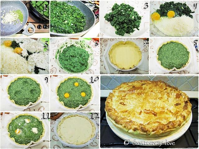 Torta Pasqualina_preparazione