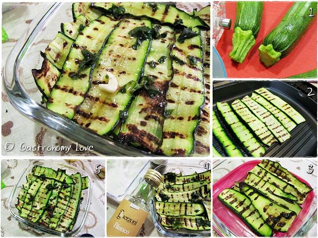 zucchine grigliate_preparazione