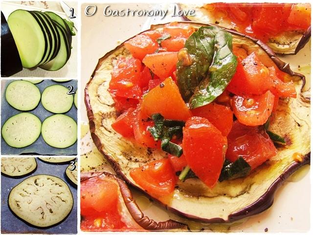 melanzane a bruschetta_preparazione