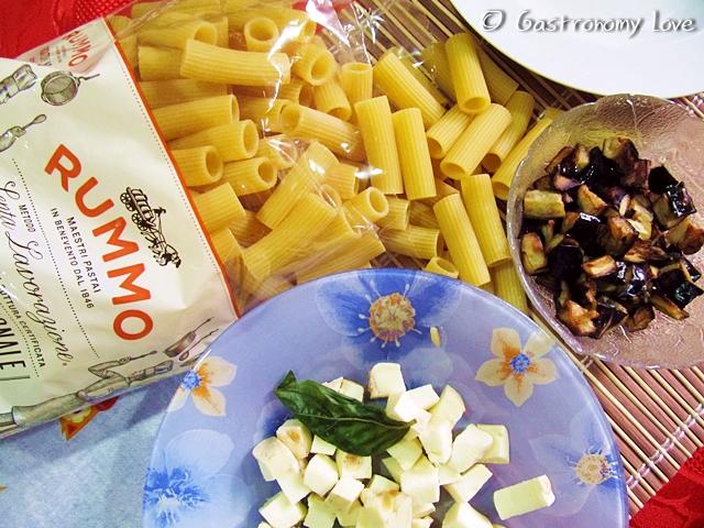 Pasta alla siciliana_ingredienti