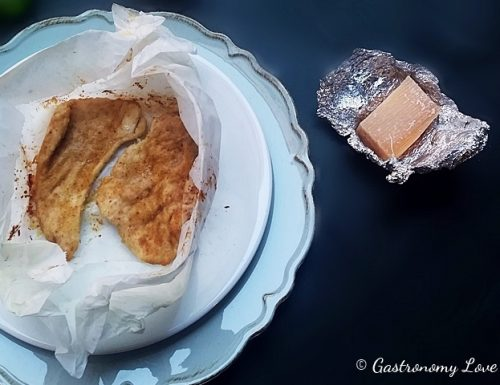 Petto di pollo al latte cotto al forno