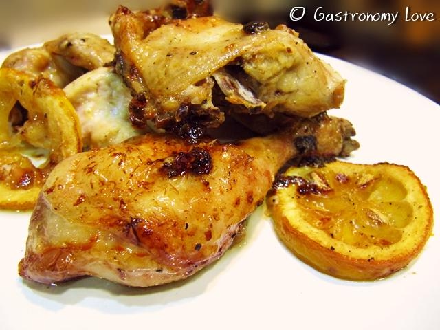 Pollo al limone al forno 5