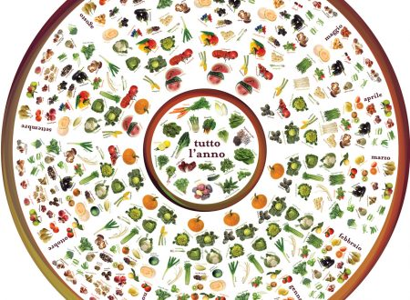 Mangiare frutta e verdura di stagione