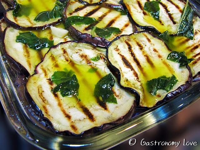 melanzane grigliate
