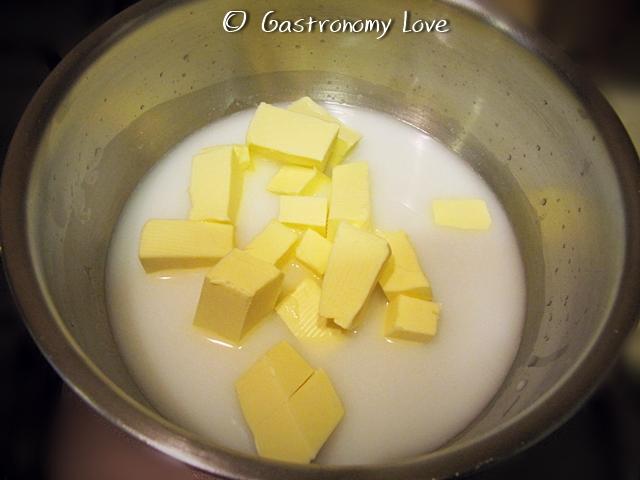 preparazione pasta choux 1