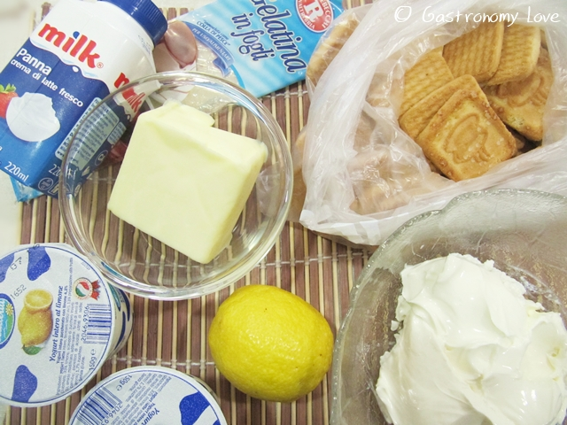 cheesecake fredda al limone_ingredienti