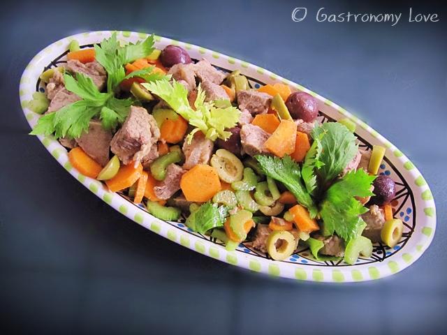 insalata di bollito alla palermitana