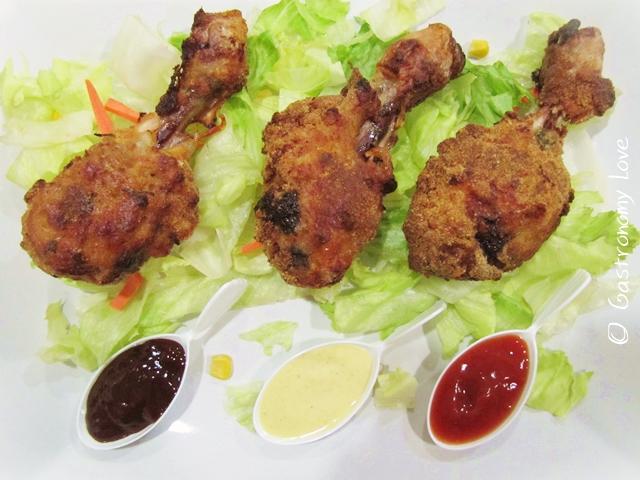 pollo fritto al forno