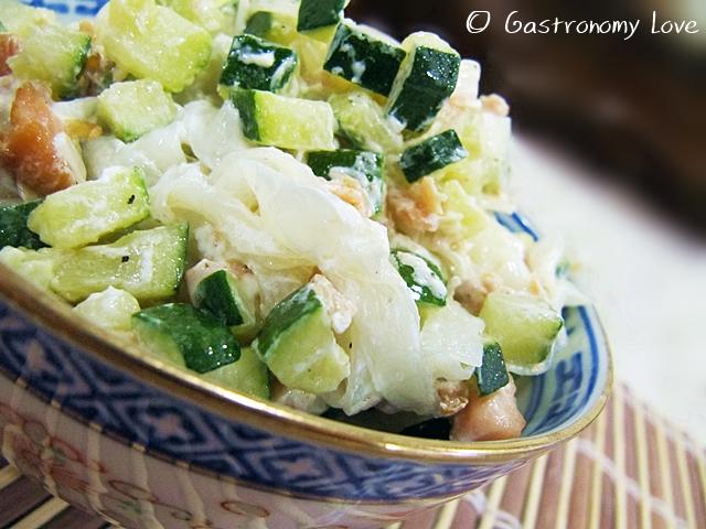 shirataki al salmone zucchine e philadelphia 2