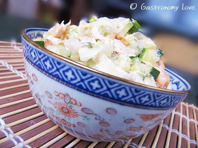 shirataki al salmone zucchine e philadelphia