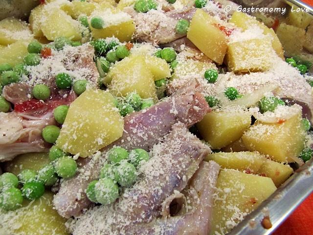 agnello al forno con patate_preparazione