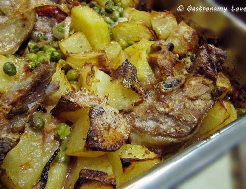 Agnello al forno con patate: O'ruot o'furn
