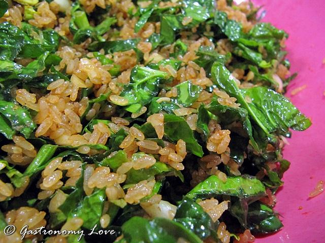 Riso alla Tunisina Rouz Djerba_riso e spinaci