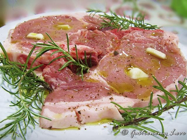 costolette di maiale in padella_preparazione