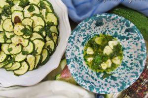 Zucchine alla scapece al forno: buone come quelle fritte ma light!