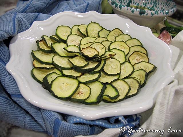 zucchine alla scapece light