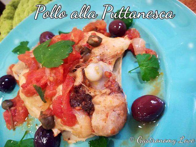 Pollo alla Puttanesca con olive e capperi